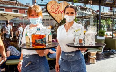 Los cócteles de verano en el rooftop de Cocina San Antón