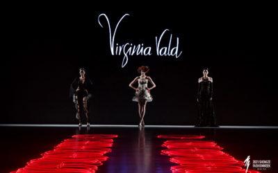 Virginia Vald Ibiza desfila en China